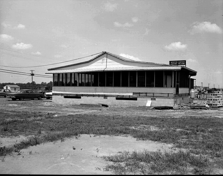 F-102 era, Canteen Construction, 30 June 1964.