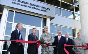 S.C. National Guard Army Aviation Support Facility Inaugurate