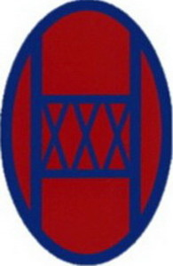 30th Inf Div SSI