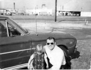Dickey Brockman and daughter Tami